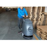 Low Noise Hand Held Industrial Floor Scrubbing Machines Easy To Operate Manufactures