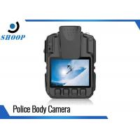 China High Resolution WIFI Police Body Cameras With GPS Drop Resistance 2m on sale