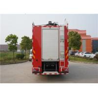 MAN Chassis Fire Engine Vehicle With Wonderful Rail System Performance