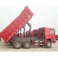 ZZ3257N3647A 25 Ton Tipper Truck / Sinotruk Howo Dump Truck Optional Color Manufactures