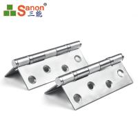 Furniture 304 SS Door Fittings Stainless Steel Flexible Hinge ASTM Standard Manufactures