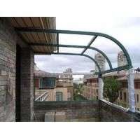 China Low E Building Curved Tempered Glass For Balustrades , High Mechanical Resistant Strengthen on sale