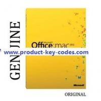 Quality Home Office MAC 2011 Microsoft Office Product Key Codes For Student for sale