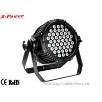 Waterproof 54pcs*1W/3W RGBW  Led Par Cans , Par 56 Led Lights  LED lighting Manufactures