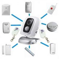 MMS camera video surveillance systems integrated security Mobile GSM home security monitor systems wholesale store Manufactures