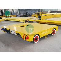 Mecanum Wheel Motorized Automated Mold Transport Trackless Electric Flat Transfer Vehicle Manufactures