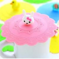 China Food Grade Silicone Cup Cover/Silicone Cup Lid / SiliconeTea Cup Cover on sale