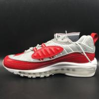Fashion Trend 2016 Nike Air Max 98 James Sport Shoes Red Black White Color Brand Max98 Basketball Sneaker Wholesale Manufactures
