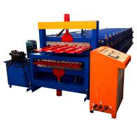 Buy cheap Double Layer Color Coated Roofing Sheet Steel Profile Roll Forming Machine building machine from wholesalers