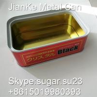 China Tinplate metal aerosol cans rectangle for car care products on sale