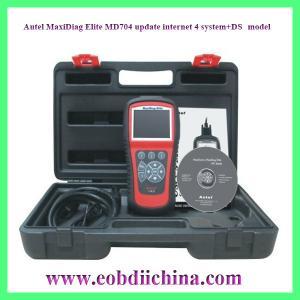 Autel MaxiDiag Elite MD704 update internet 4 system+DS model Manufactures