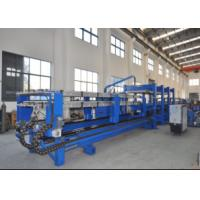 China Color Steel Discontinuous China Foam Pu Sandwich Panel Production Line for Roof Wall Panel Producing on sale