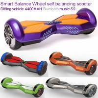 bluetooth Smart Self Balance Electric Scooters 8inch Two Wheel Self Balancing Unicycle Manufactures