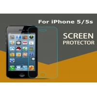 China Cool Glass Tempered iPhone 5 5S Screen Protector Scratch Proof Removable on sale