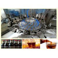 China Durable Carbonated Soft Drink Filling And Sealing Machine 2450 * 1800 * 2200 mm on sale