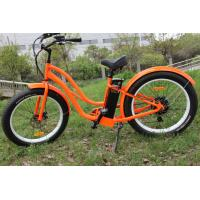 ZOOM Alloy / suspension fat tire Women Mountain Bike Samsung lithium battery operated bicycle Manufactures