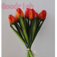 Buy cheap natural touch artificial flower tulip home decoration from wholesalers