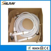 China 90kV DC / 10min Hv Termination , White High Voltage Electric Cable Copper Conductor on sale