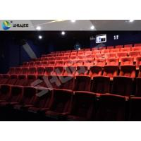 Easy Installation Special Effect 4D Movie Theater Cinema Equipment For Shopping Mall Manufactures