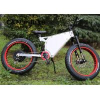 48V 1000W Long Range Fat Tire Storm Electric Mountain Bikes 30 - 50km/h Speed Manufactures