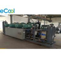 Worry Saving Refrigeration Compressor Unit For Large Cold Storage Room Manufactures