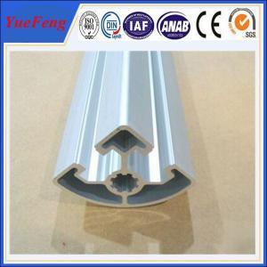 aluminium extrusion profile factory price, 45X45R aluminum extrusion manufacturer Manufactures