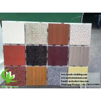 Aluminum wall panel with stone color for building facade cladding 3mm Manufactures