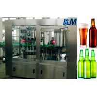 Wine / Alcohol / Liquor Beer Bottle Rinsing Filling Capping Machine Manufactures