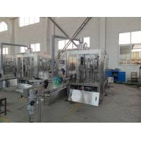 12 Pcs Heads Water Bottle Filling Machine Full Automatic CSD Filling Equipment Manufactures