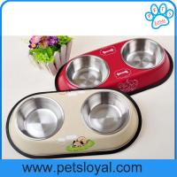 China Popular & Cheap stainless steel pet dish/dog bowl/pet feeder on sale