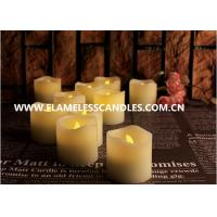 Moving Flame Flickering Flameless LED Votive Candles for Home Decor / Wedding Gift Manufactures