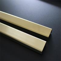 Hairline Finish Gold Stainless Steel Corner Guards 201 304 316 For Wall Ceiling Frame Furniture Decoration Manufactures