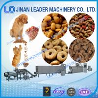 Automatic Low consumption dog food making extruder machine for fish feed Manufactures