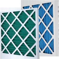 Customized Paper Frame Pre Air Filter Disposable Pleat Primary Furnace Air Filter Type Manufactures