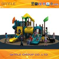CE/TUV/ASTM high standard kindergarten outdoor  commercial playground equipment Manufactures
