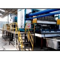 Pulp Molding Rotary Egg Tray / Fruit Tray Forming Equipment with 6 Layers Dryer Manufactures