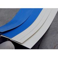 China 1.0 Meters Width Flat Plastic Roofing Sheets White Film Soft Waterproof Frosted Pvc Sheet on sale
