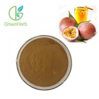 China 100% Natural Plant Extract Powder Water Soluble Passion Flower Extract TLC Test Method on sale