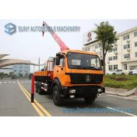 Beiben NG80 Cabin Truck With Crane 6x4 Crane Mounted Truck 336 hp Manufactures