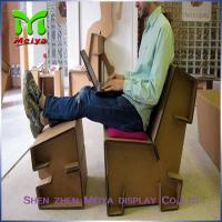 Customized Corrugated Foldable cardboard desk For Advertisement And Company Logo Manufactures