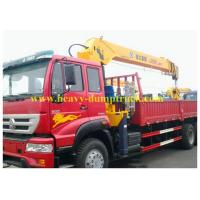 China 4X2 88 HP Crane Vehicle Mounted Cranes  with warranty and spare parts on sale