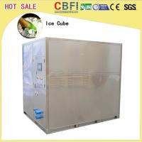Less Power Consumption Cube Ice Maker / Small Ice Machine Business 20 Tons