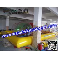 Custom Exciting Inflatable Human Water Ball Games In Ground Pools Manufactures