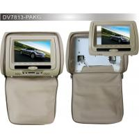7 Inch Black Car Headrest DVD Players PAL / NTSC for BMW Manufactures