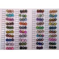 Fashion Jewelry Lined Glass Beads Manufactures