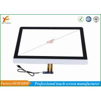 China 10 Point Smart Home Touch Screen Digitizer Glass Panel 4096x4096 Resolution on sale