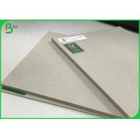 100% Recycled Paper Board Grey Laminated Sheets 1.7mm 2.5mm Pressed Board Manufactures