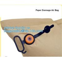China dunnage inflator air bags, PP big inflatable bag, Container air pillow bags, Inflatable Air Filled Pillow Dunnage Bag fo on sale
