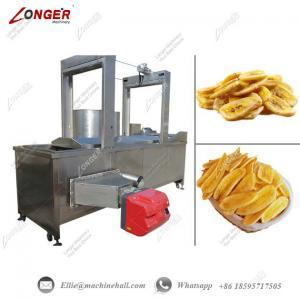 Buy cheap Banana Chips Frying Machine Automatic Banana Chips Frying Machine Commercial from wholesalers