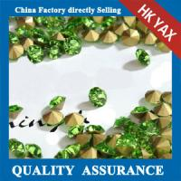 china factory cheap price point back rhinestone,point back round rhinestone, loose chaton rhinestone Manufactures